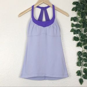 Lululemon Athletica Purple Lavender Athletic Tank